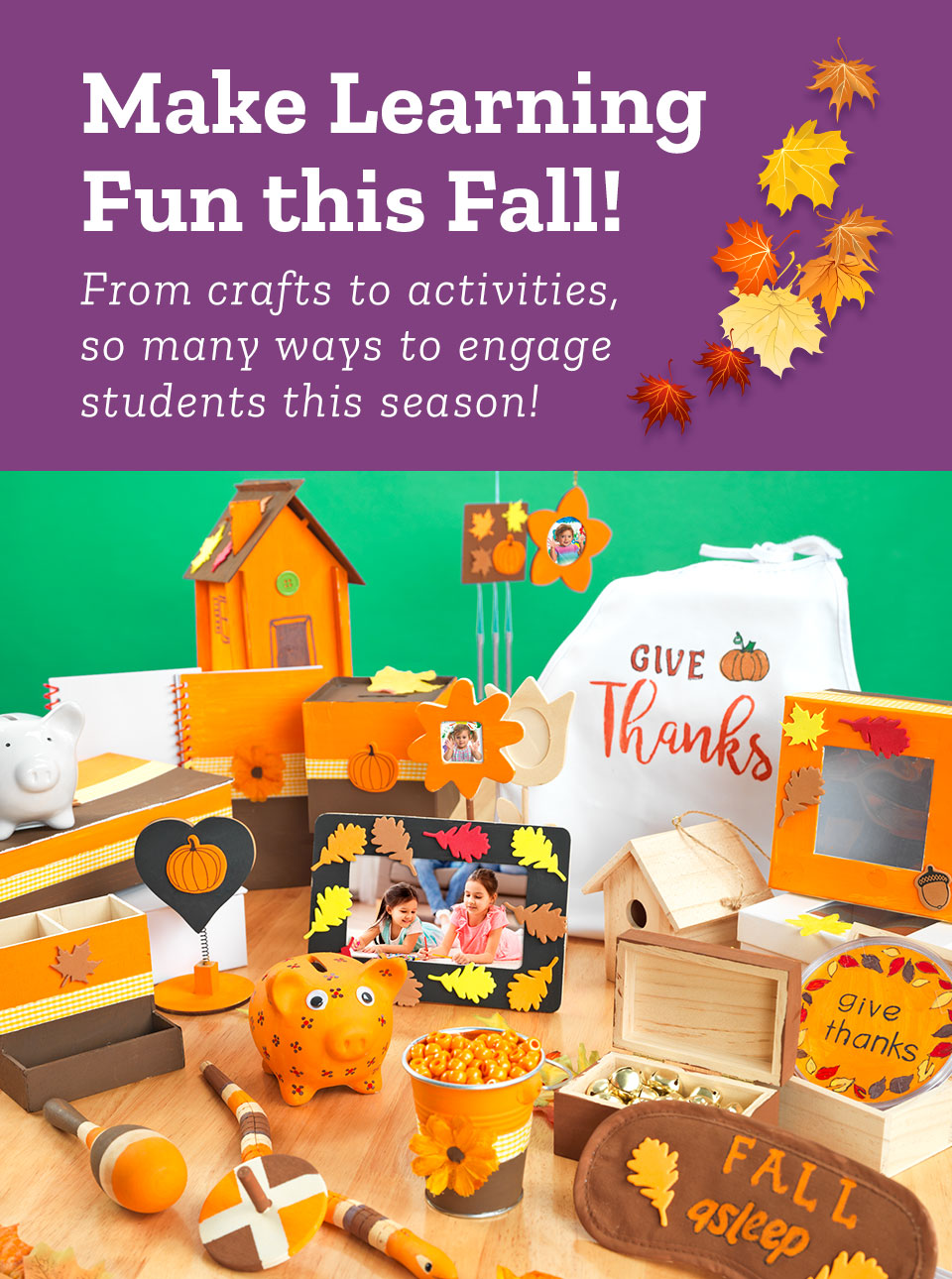 Make Learning Fun This Fall!   From crafts to activities, so many ways to engage students this season!