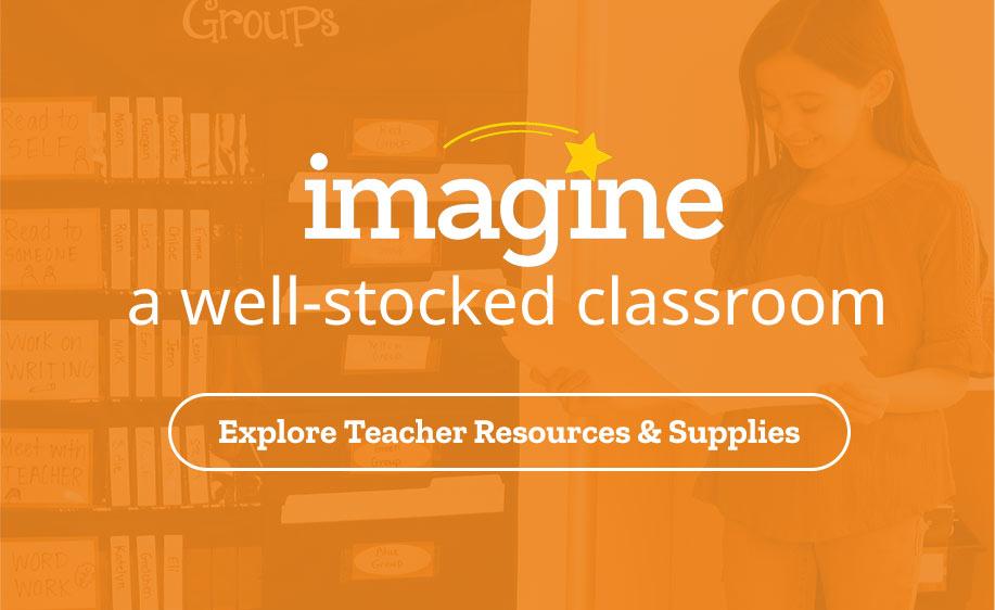 Imagine Well Stocked Classroom