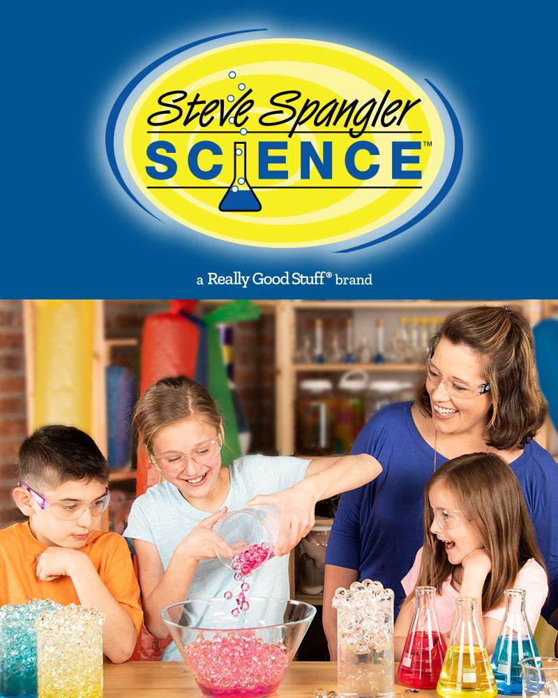 Steve Spangler Science | A Really Good Stuff brand