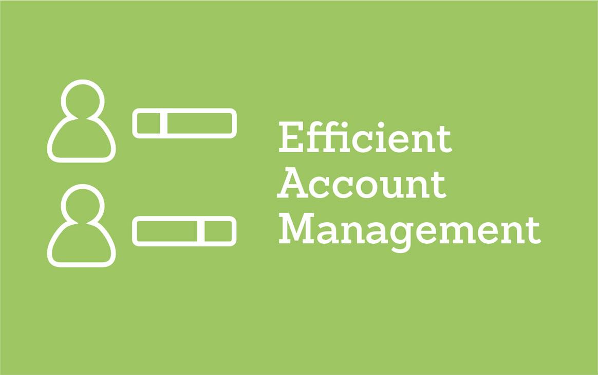 Efficient Account Management